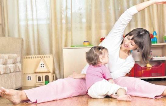 Mamá, cinco formas para relajarte